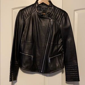 Kenneth Cole 100% leather  jacket